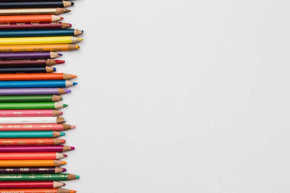 Year 6 Darwin Class image - Colouring Pencils