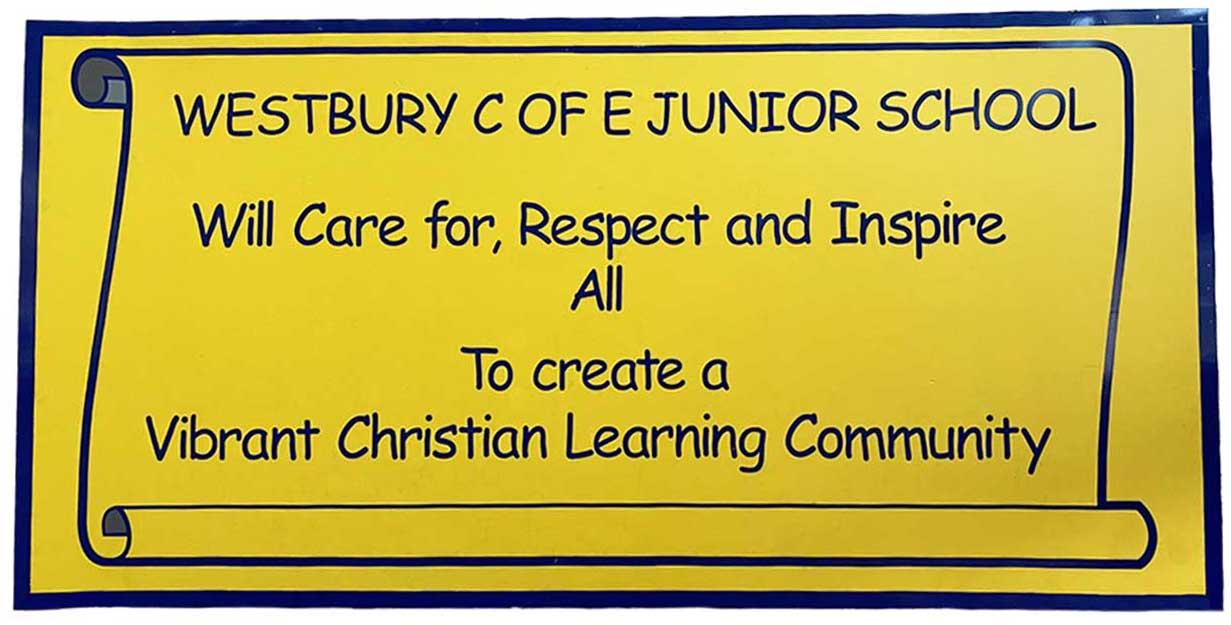 wjs school ethos values hall banner image